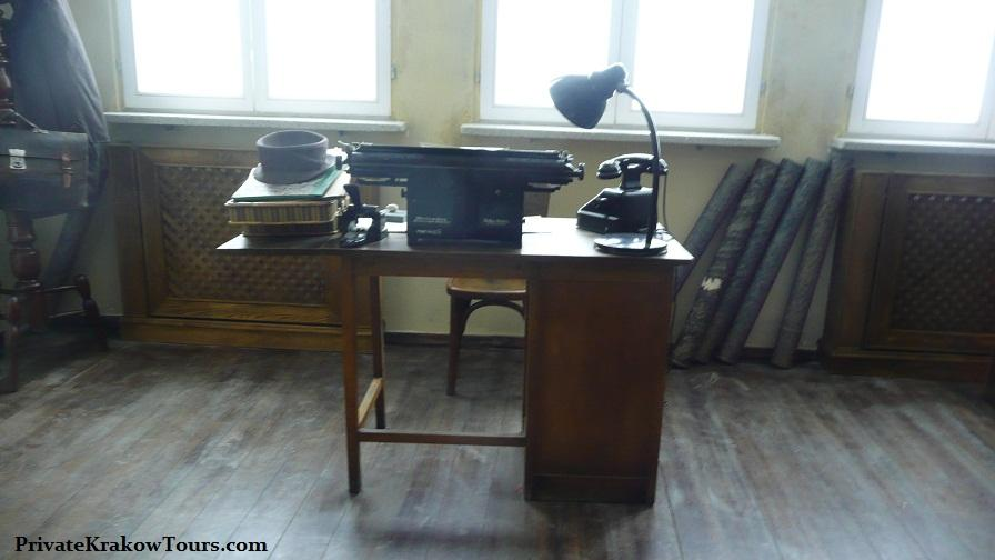Schindler's Factory office Table